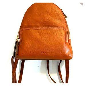 Fossil Authentic Genuine Leather Backpack